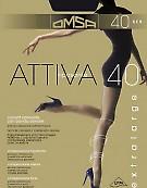 Поддерживающие колготки больших размеров Omsa Attiva 40 XXL