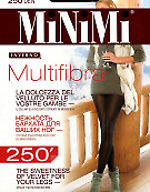 Плотные эластичные колготки из микрофибры MiNiMi Multifibra 250