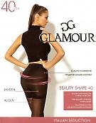 Эластичные утягивающие колготки Glamour Beauty Shape 40