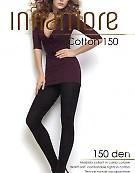 Теплые колготки с хлопком и микрофиброй Innamore Cotton 150