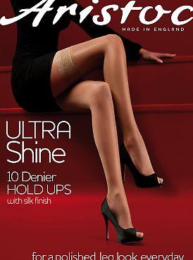Aristoc Ultra Shine 10 Den Hold Ups AKW9