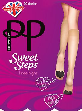 Pretty Polly Sweet steps knee highs ATO7
