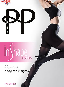 Pretty Polly Opaque Bodyshaper Tights AVS7
