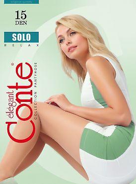 Тонкие колготки большого размера Conte Solo 15 XL