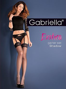 Gabriella Garter Set Shadow
