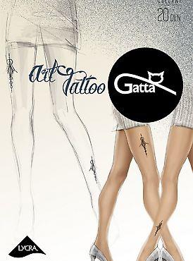 Фантазийные колготки Gatta Art Tattoo 03