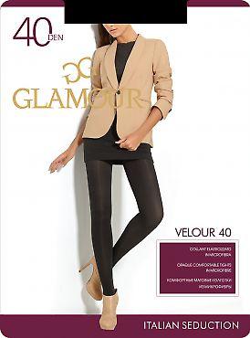Колготки из микрофибры Glamour Velour 40