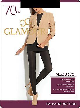 Колготки из микрофибры Glamour Velour 70
