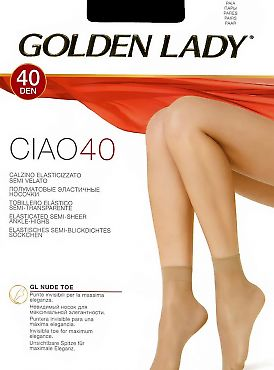 Golden Lady Ciao 40 Calzino