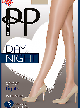 Pretty Polly Day to Night Sheer Tights 15 den GVH2