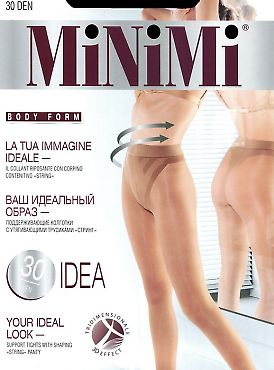 Поддерживающие колготки MiNiMi Idea 30