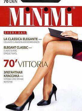 Недорогие плотные колготки MiNiMi Vittoria 70