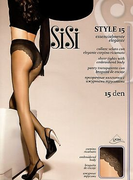 Тонкие колготки SiSi Style 15