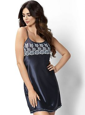 Donna Janette nightdress Dark Blue