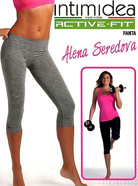 Intimidea Panta 3/4 Donna Active-Fit Melange