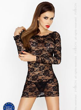 Passion Erotic Line Yolanda chemise Black