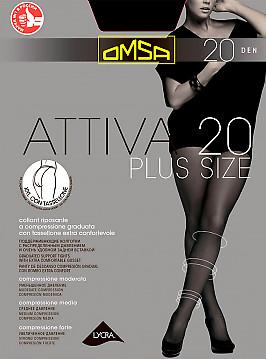 Omsa Attiva 20 XXL Plus Size