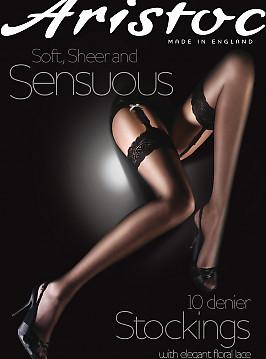 Aristoc Sensuous 10 Den Stockings AAM6