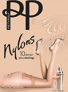 Pretty Polly Nylons Gloss Stockings 10 Den