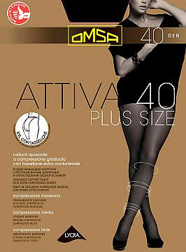 Omsa Attiva 40 XXL Plus Size