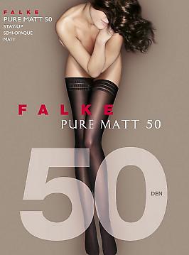 Falke Pure Matt 50 Stay-Up