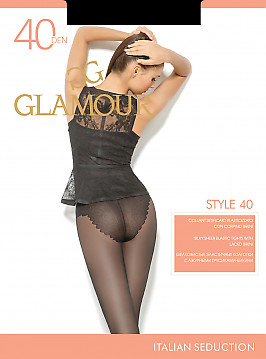 Колготки с трусиками-бикини Glamour Style 40