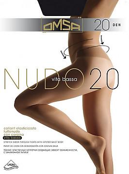 Колготки с низкой талией Omsa Nudo 20 VB