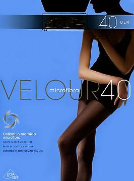 Колготки с микрофиброй Omsa Velour 40