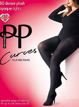 Колготки Pretty Polly Curves Plush Opaque 60 Den APP5