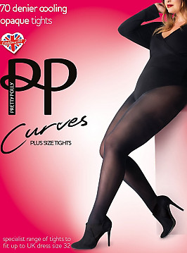 Pretty Polly Curves 70 den Cooling Tights AVY7