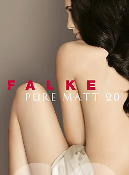 Falke Pure Matt 20 Knee-High
