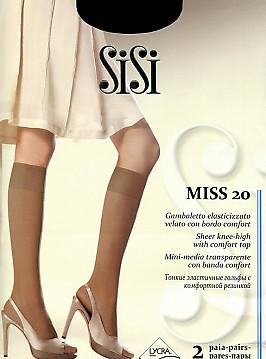 Гольфы женские SiSi Miss 20 Gambaletto