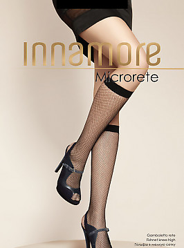 Гольфы в сетку Innamore Microrete GB