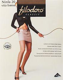 Колготки с низкой талией Filodoro Classic Ninfa 20 Vita Bassa