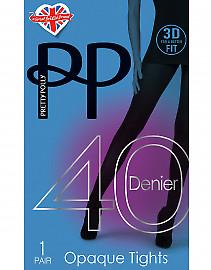 Pretty Polly 40 Den 3D Opaque AVA3