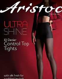 Aristoc Ultra Shine 10 Den Control Top AAE4
