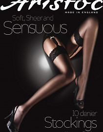 Aristoc Sensuous 10 Den Stockings AAM6