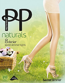 Pretty Polly Naturals 8 Den Secret Slimmer APA8
