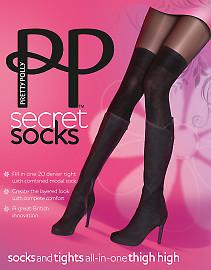 Pretty Polly Secret Socks AQT1