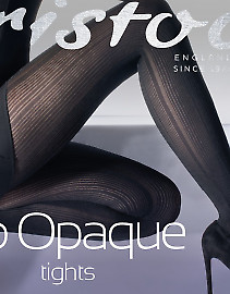 Aristoc Rib Opaque Tights AWE7