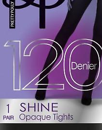 Pretty Polly 120 den 3D shine opaque AVA7
