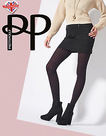 Pretty Polly Ribbed Tights AVQ6
