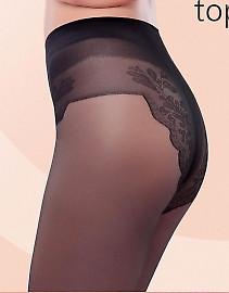 Колготки Conte Bikini 40 с изящными трусиками-бикини