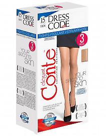 Conte Dress Code 15 (3 Пары)