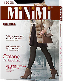 Легинсы MiNiMi Cotone 160 XL Pantacollant