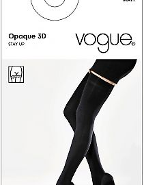 Vogue Opaque 140 3d Stay Up