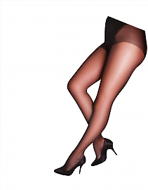 Pretty Polly Curves gloss tights EUN3