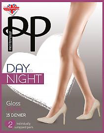 Pretty Polly Day to Night Gloss Tights EWC6