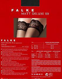 Чулки Falke Matt Deluxe 20 Stay-Up