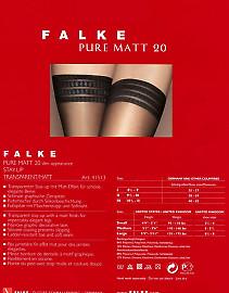 Falke Pure Matt 20 Stay-Up